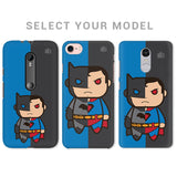Cute SuperHeroes Are Annoyed Phone Cover