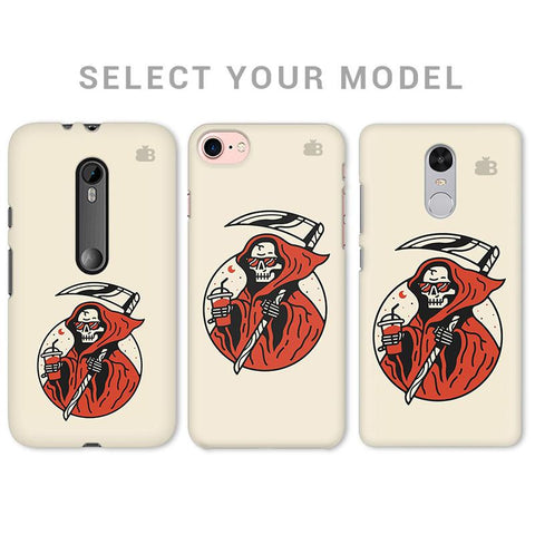 Death Chilling Phone Cover