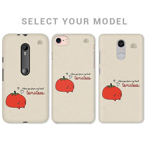 From head tomatoes Phone Cover