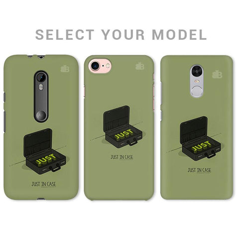 Just in Case Phone Cover