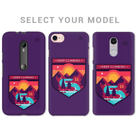 Keep Climbing Phone Cover