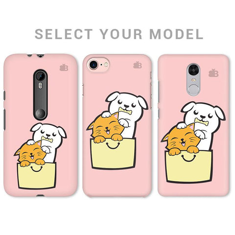 Kitty Puppy Buddies Phone Cover
