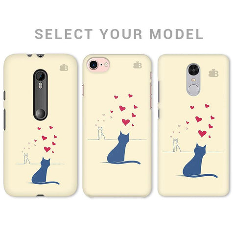 Kitty in Love Phone Cover