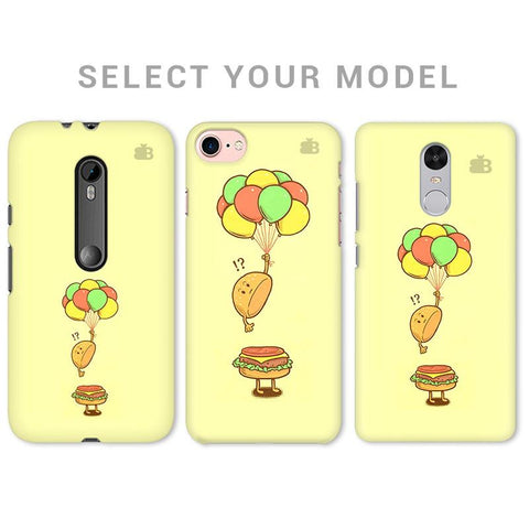 Light Burger Phone Cover