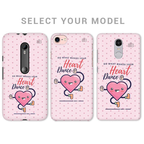 Make Your Heart Dance Phone Cover