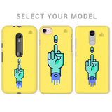 Middle Finger Phone Cover