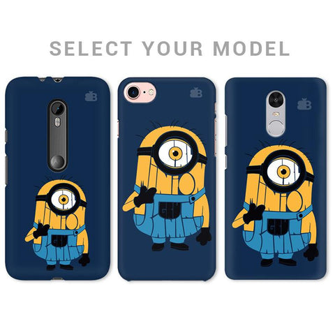 Minion Typography Phone Cover