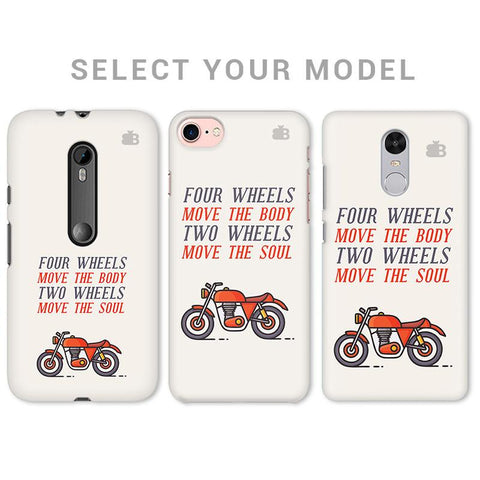 Motorcyclist Phone Cover