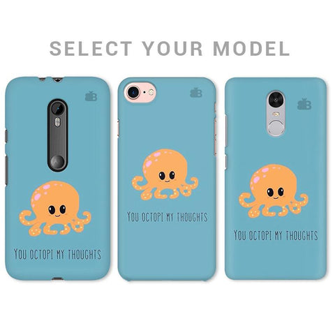 Octopi Thoughts Phone Cover