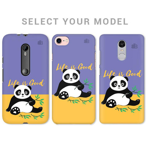 Panda Life is Good Phone Cover