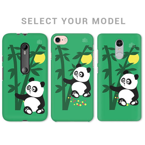 Panda in Woods Phone Cover