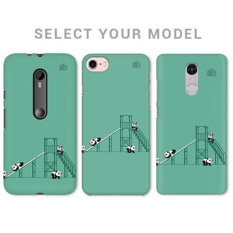 Pandas Playing Phone Cover