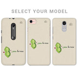 Peas be mine Phone Cover