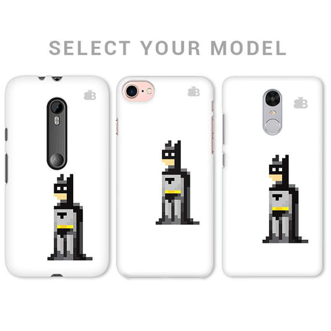 Pixelated Superhero Phone Cover