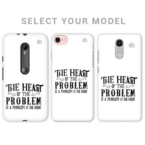 Problem of the Heart Phone Cover