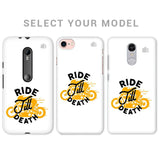Ride Till Death Phone Cover