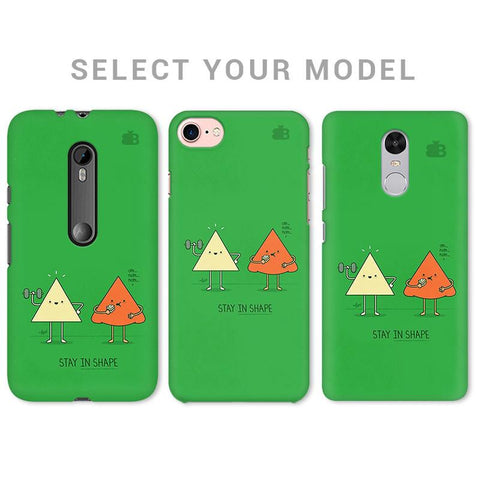Stay in Shape Phone Cover
