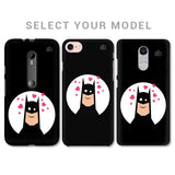 Superhero in Love Phone Cover