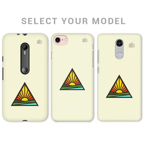 Triangular Sun Phone Cover