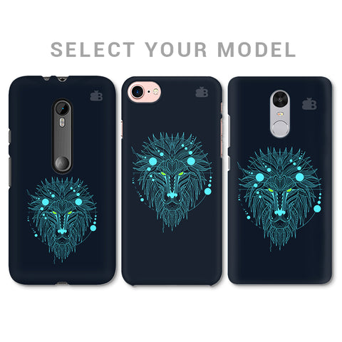 Abstract Art Lion Phone Cover