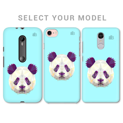 Abstract Panda Phone Cover