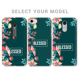 Blessed Floral Phone Cover