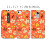 Cute Leaves Pattern Phone Cover