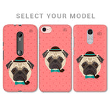 Gentleman Pug Phone Cover