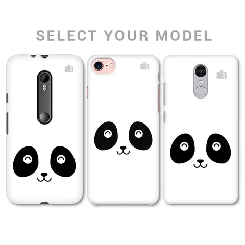 Happy Little Panda Phone Cover