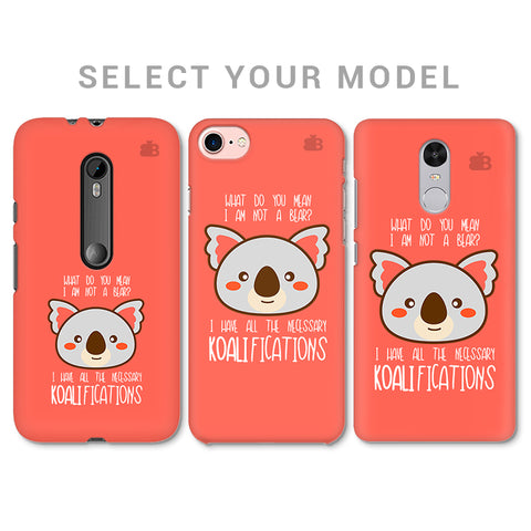 Koalifications Phone Cover