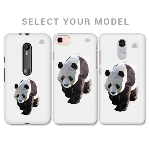 Low Poly Panda Phone Cover