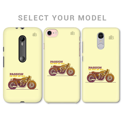 Passion for Motor Phone Cover