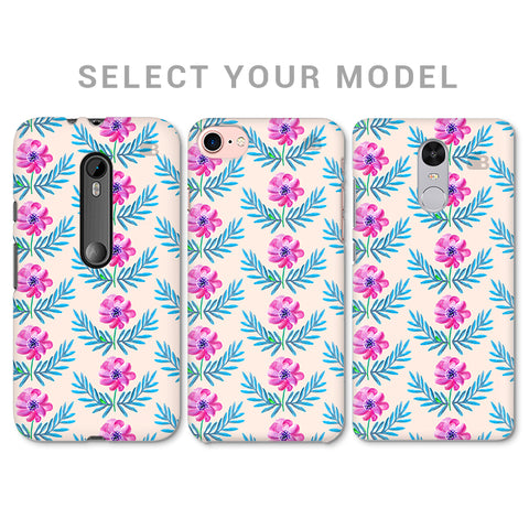 Pink Watercolor Pattern Phone Cover
