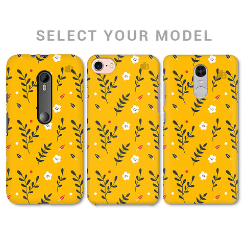 Summer Floral Pattern Phone Cover