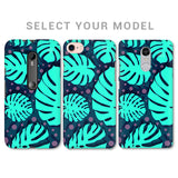 Tropical Leaves Pattern Phone Cover