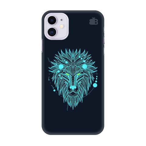 Abstract Art Lion Apple Iphone 11 Cover