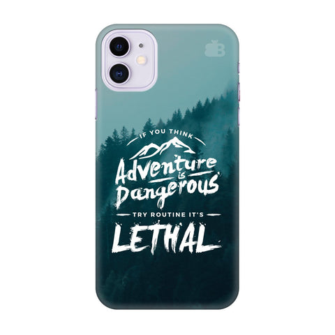 Adventure Apple Iphone 11 Cover
