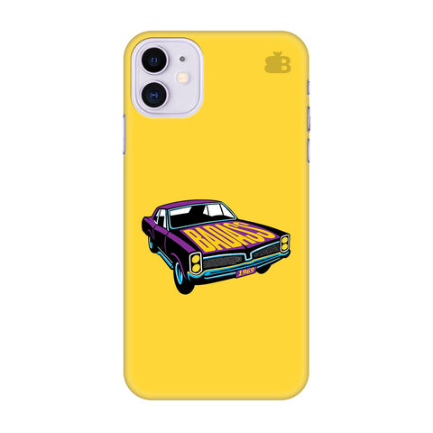 Badass Muscle Car Apple Iphone 11 Cover