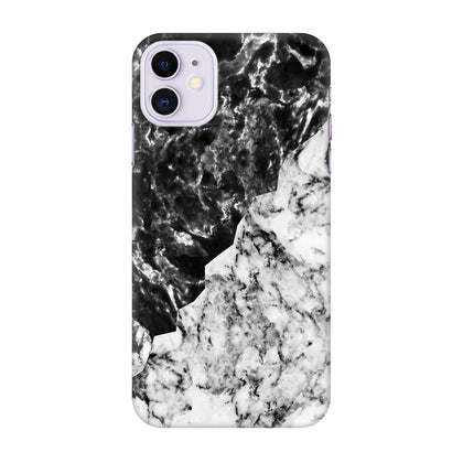 Black White Marble Apple Iphone 11 Cover
