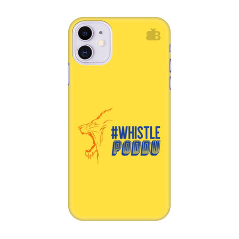 Chennai Super Kings Apple Iphone 11 Cover