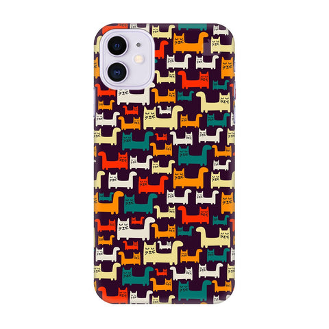 Chill Cats Apple Iphone 11 Cover