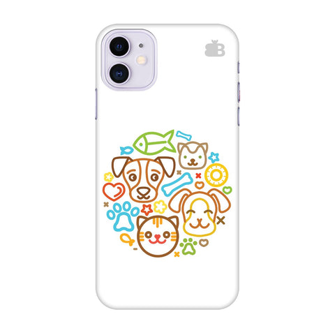 Cute Pets Apple Iphone 11 Cover