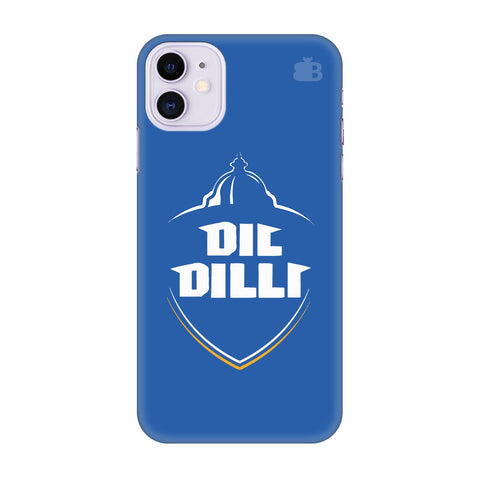 Delhi Capitals Apple Iphone 11 Cover