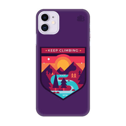 Keep Climbing Apple Iphone 11 Cover