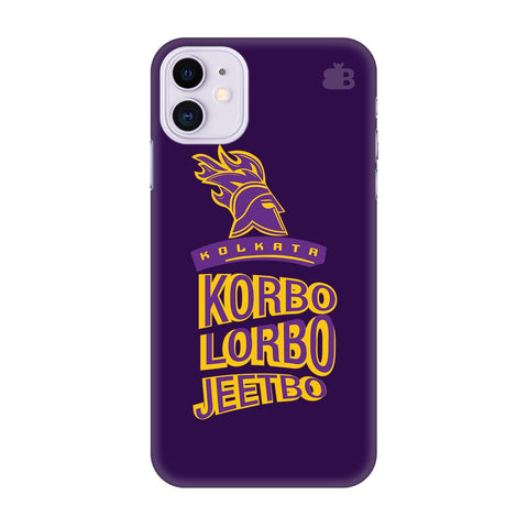 Kolkata Knight Apple Iphone 11 Cover