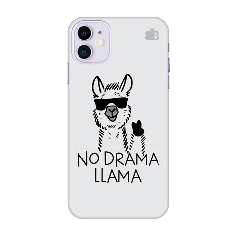 No Drama Llama Apple Iphone 11 Cover