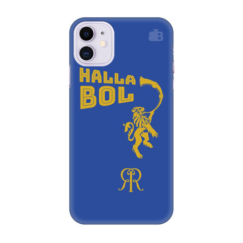 Rajasthan Royals Apple Iphone 11 Cover