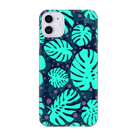 Tropical Leaves Pattern Apple Iphone 11 Cover