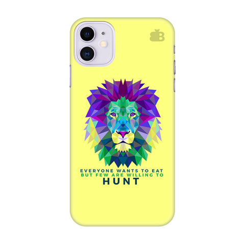 Willing To Hunt Apple Iphone 11 Cover