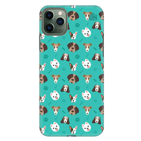 Doggie Pattern Apple Iphone 11 Pro Max Cover